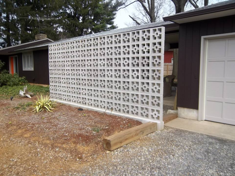 decorative block wall - bill's masonry services