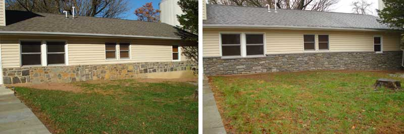Stone Veneer – Before & After – Jim S.