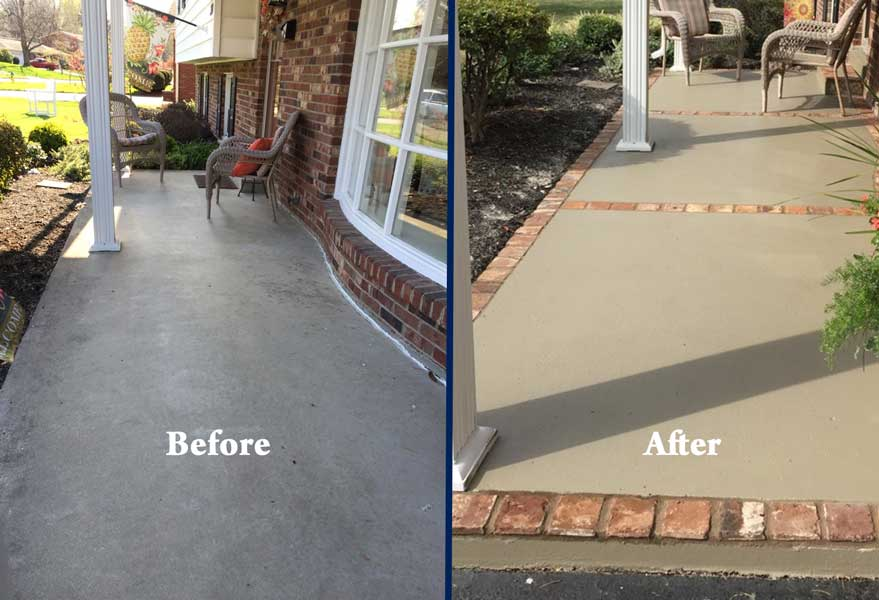Patio – Before & After