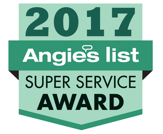 Super Service Award from Angie's List 2016