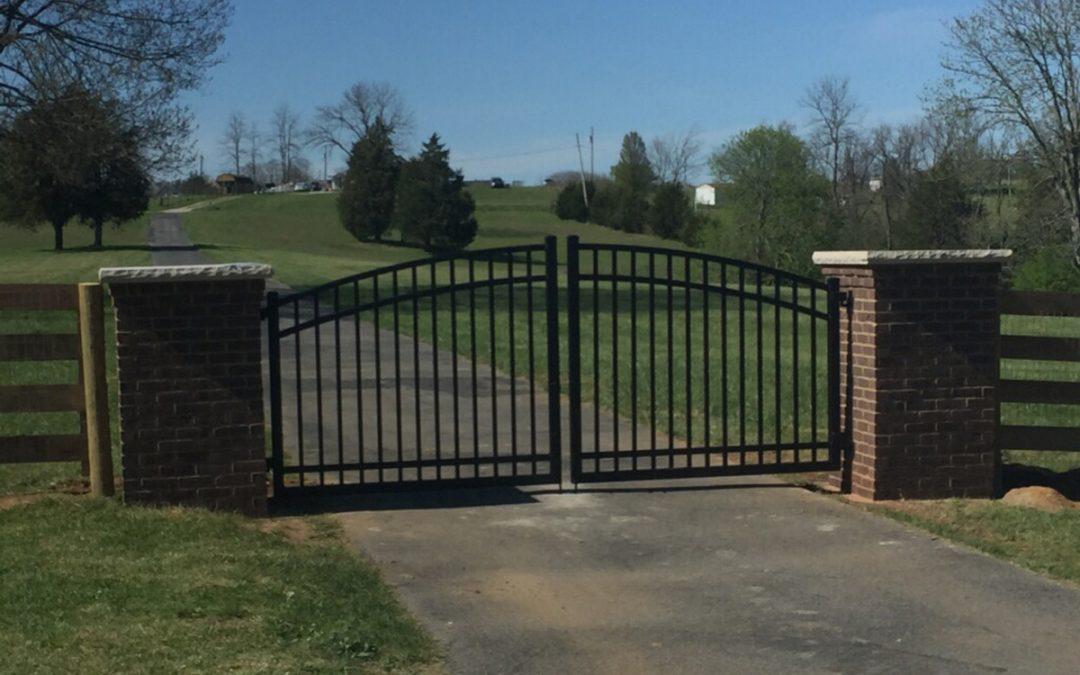 Corbet Pillars with Gates
