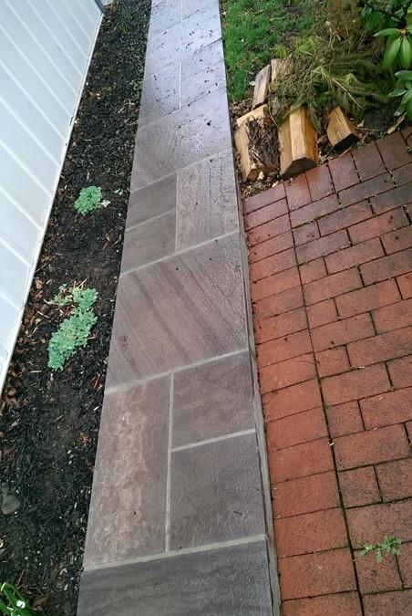 Brownstone Walkway