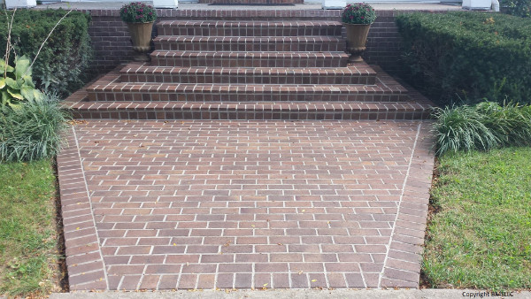 Brick Steps and Path